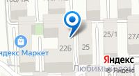 Компания Т-салон на карте