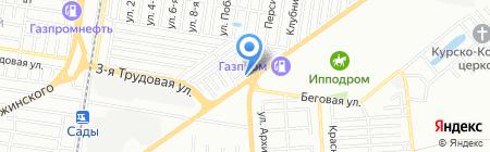 Русский век Краснодар на карте Краснодара
