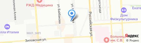 8Марта на карте Краснодара