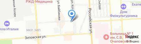 Максимум на карте Краснодара