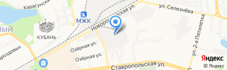 АВТОграф на карте Краснодара