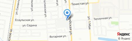 Рубикон-S на карте Краснодара