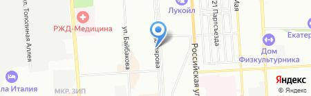 Кубаньбио на карте Краснодара