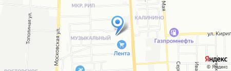 ИзоВит-Строй на карте Краснодара