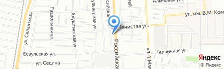 Шина-Motors на карте Краснодара