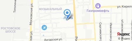 Аптека на карте Краснодара