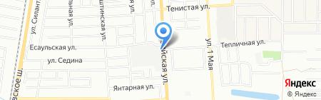 Рыбалка на карте Краснодара