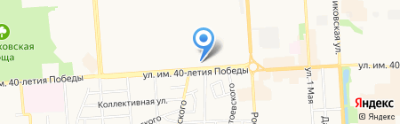 Адвокатский кабинет Диядилова Р.Д. на карте Краснодара