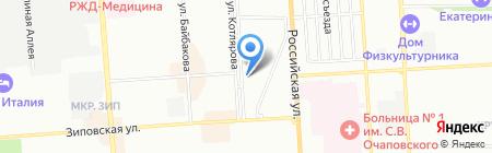 ВИТЯЗЬ на карте Краснодара