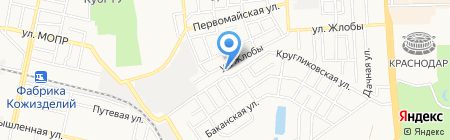 Детский сад №110 Теремок на карте Краснодара
