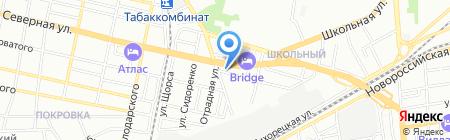 МартМ на карте Краснодара