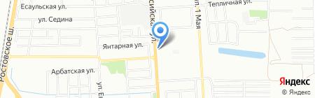 Мелодия сна на карте Краснодара