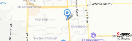 Sachs на карте Краснодара