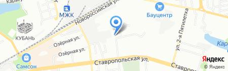 Лидер С на карте Краснодара