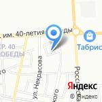 Банечка на карте Краснодара