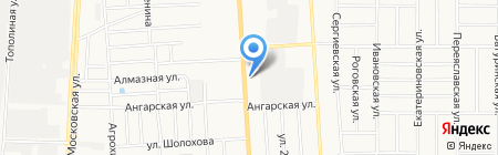 Юг Дом Инвест Строй на карте Краснодара