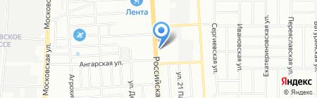 ЭНСИ на карте Краснодара