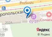Центр велопроката на карте