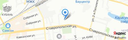 Детский сад №82 на карте Краснодара