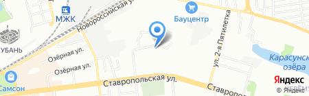 ДРК клининг на карте Краснодара