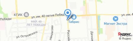 ПромТекс-Юг на карте Краснодара