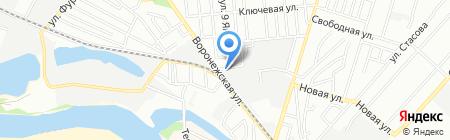Бренд на карте Краснодара