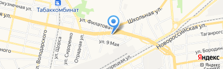 Мерит на карте Краснодара