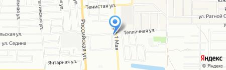 Городская поликлиника №13 на карте Краснодара