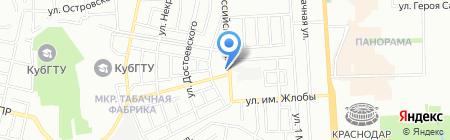 Колобок-Тур на карте Краснодара