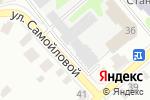Схема проезда до компании Шинник в Егорьевске