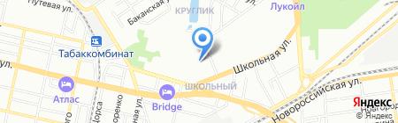 Янина на карте Краснодара