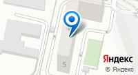 Компания Метро на карте