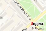 Схема проезда до компании Jeans moda в Семилуках
