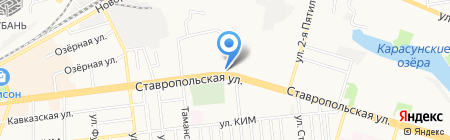Виола на карте Краснодара