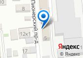 Кирпичный завод №1 на карте