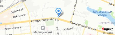 Банкомат НБ Траст на карте Краснодара