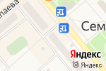 Схема проезда до компании Связной в Семилуках