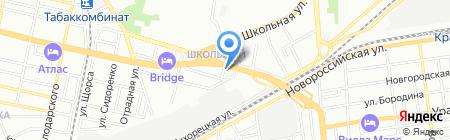 ЮгВентСтрой на карте Краснодара