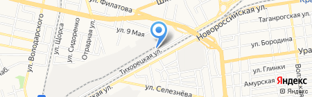 ТВИД на карте Краснодара