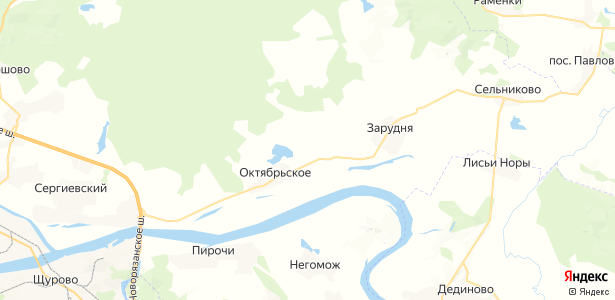 Подосинки на карте