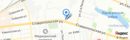 Хочу на карте Краснодара