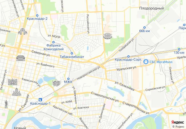 Аренда офиса, Краснодар, 9-го Мая ул, 48/1 - снять офисное ...
