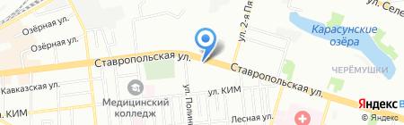 Мебелла на карте Краснодара