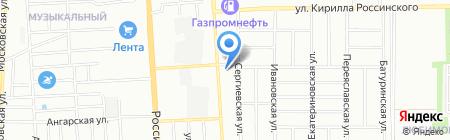 АЛЬЯНС-СТРОЙ Краснодар на карте Краснодара