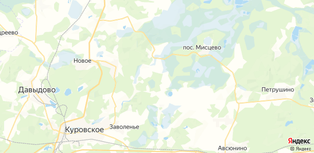 Беливо на карте