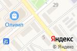 Схема проезда до компании Золотой Телец в Семилуках