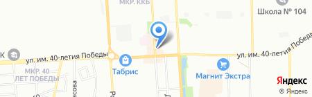 Банкомат Лето Банк на карте Краснодара