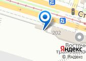 Восточное трамвайное депо на карте