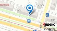 Компания Билайн на карте