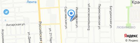 КубАвто на карте Краснодара